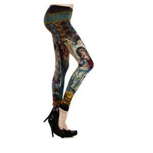 Angel Stain Glass Leggings